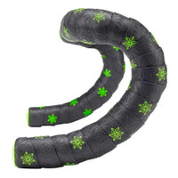 Supacaz Super Sticky Kush Galaxy Bar Tape neon green
