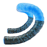 Supacaz Super Sticky Kush Star Fade Bar Tape neon blue sport factory