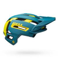 Bell Super Air MIPS matte/gloss blue highlight yellow