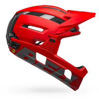 Bell Super Air R MIPS with Chin Bar matte/gloss red sport factory