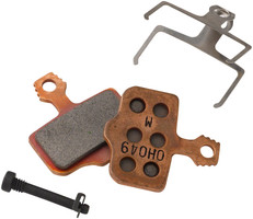 SRAM Disc Brake Pads - Organic Compound, Steel Backed, For Level, Elixir, DB, and 2-Piece Road 00.5315.035.031