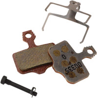 SRAM Disc Brake Pads - Organic Compound, Aluminum Backed, Quiet/Light, For Level, Elixir, DB, and 2-Piece Road 00.5315.035.020