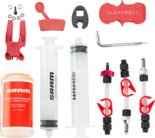 SRAM Standard Disc Brake Bleed Kit with Fluid