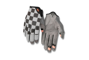 Giro LA DND Womens Gloves checkered peach