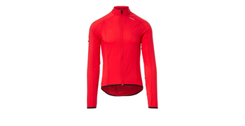 Giro Mens Chrono Expert Wind Jacket bright red sport factory