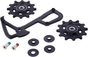 SRAM GX 1X11/Force1/Rival1 Type 2.1 Rear Derailleur Pulley and Long Cage Assembly