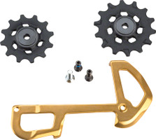SRAM XX1 Eagle Ceramic Bearing Pulleys and Inner Cage gold