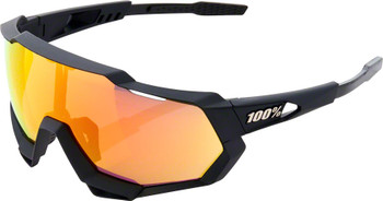 100% Speedtrap Black Frame with Red Lense  hiper sport factory