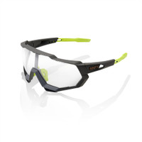 100% Speedtrap Cool Gray Frame with Photochromatic Lense sport factory