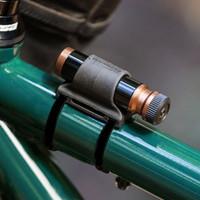 Blackburn Pro Plugger Tubeless Tire Repair Kit with top tube mounted
