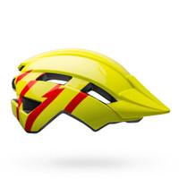 Bell Sidetrack II MIPS strike gloss hi vis yellow red sport factory