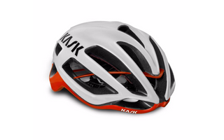 kask protone white red