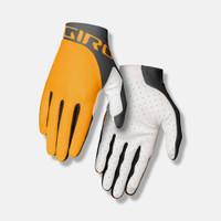 Giro Trixter Cycling Gloves blaze yellow portaro gray sport factory
