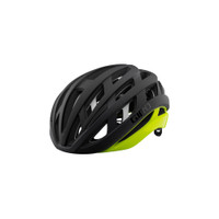 Giro Helios Spherical MIPS matte black fade highlight yellow sport factory