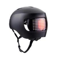 Lumos Matrix MIPS Helmet With Brake Turn Signal Lights smart phone