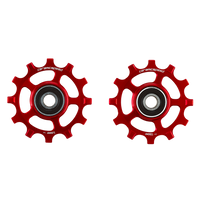 CeramicSpeed SRAM Red/Force AXS 1x12 Pulley Wheels Non-Coated red sport factory