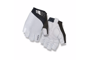 Giro Monaco II Gel Road Bicycle Gloves white black