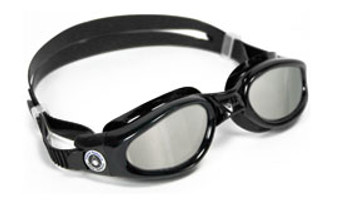 Aqua Sphere Kaiman Goggles Small Fit Black Smoke