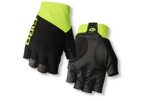 Giro Zero CS Cycling Gloves black highlight yellow