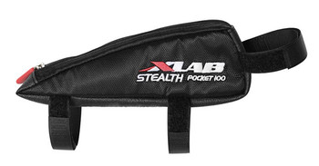 xlab stealth pocket is a more aerodynamic frame bag
