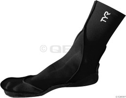 tyr neoprene swim socks for triathlon