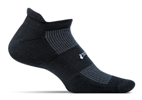 Feetures High Performance Cushion No Show Tab black sport factory