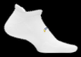 Feetures High Performance Cushion No Show Tab white sport factory