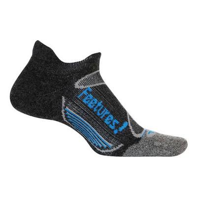 Feetures Elite Merino+ Light Cushion Show Tab charcoal brilliant blue