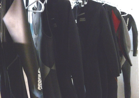 Rental and demo wetsuits on clearance at The Sport Factory