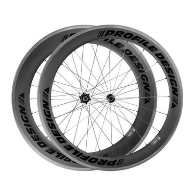 Profile 78/58 Twenty Four ii Carbon Clincher Wheelset sport factory