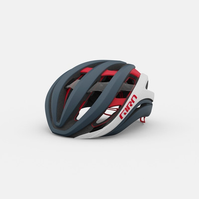 Giro aether spherical mips matte portaro gray/white/red sport factory