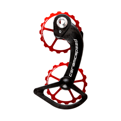 CeramicSpeed Shimano 10/11 Speed OSPW Kit Red sport factory