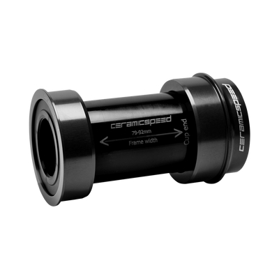 CeramicSpeed BBright Shimano Road Bottom Bracket black