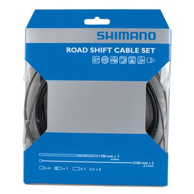 Shimano PTFE Shift Cable Set black