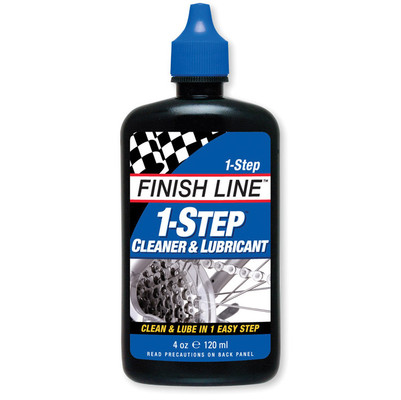Finish Line 1-Step Cleaner & Lubricant 4oz Squeeze
