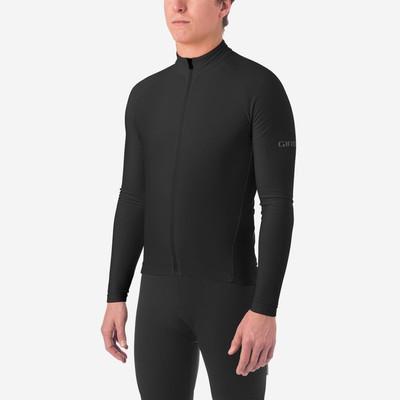 Giro Chrono LS Thermal Jersey Mens black