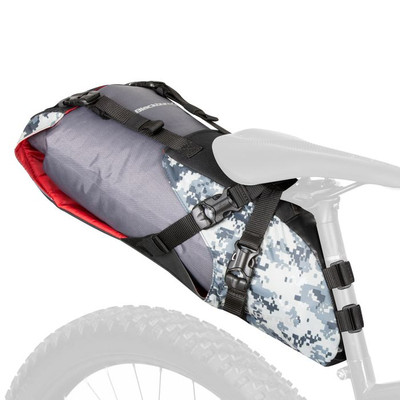 Blackburn Outpost Seat Pack and Dry Bag Digital Camo