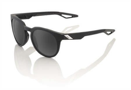 100% Campo Soft Tact Black - Grey PEAKPOLAR Lens sport factory