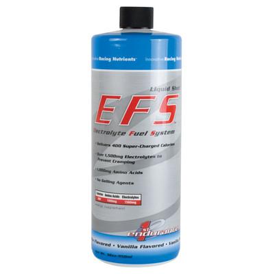 First Endurance EFS Liquid Shot 32 oz Refill vanilla