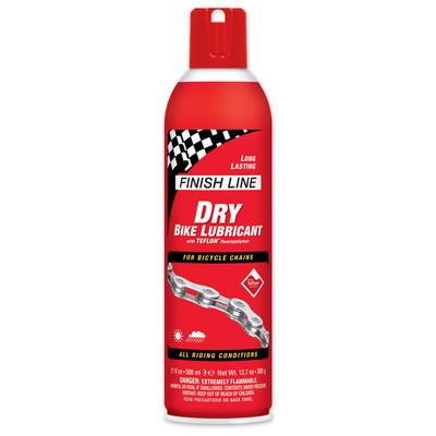 Finish Line Dry Teflon Lube 17oz Aerosol spray for bikes