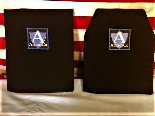 """Kevlar XP Soft Armor Panel NIJ IIIA 10"""" x 12"""" SAPI/REC BLK 2"""