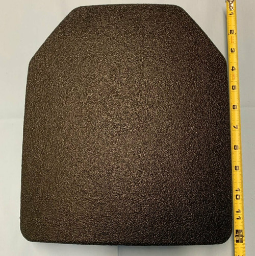 "Level III Lightweight UHMWPE Rifle Plate 10"" x 12"" SAPI"