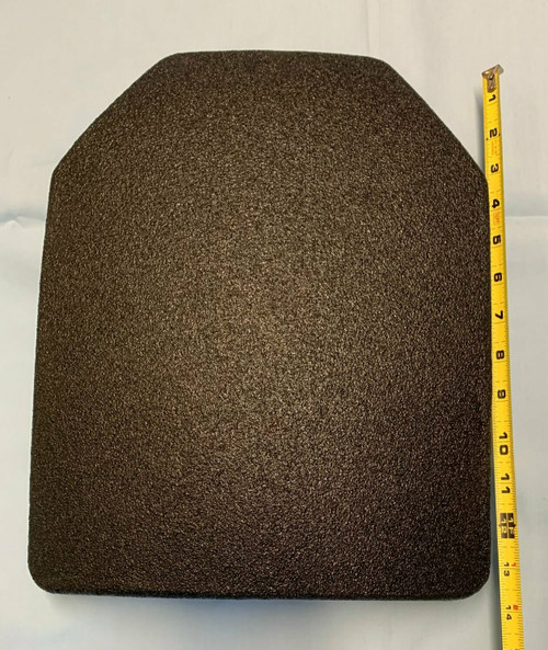 "Level III Lightweight UHMWPE Rifle Plate 11"" x 14"" SAPI"