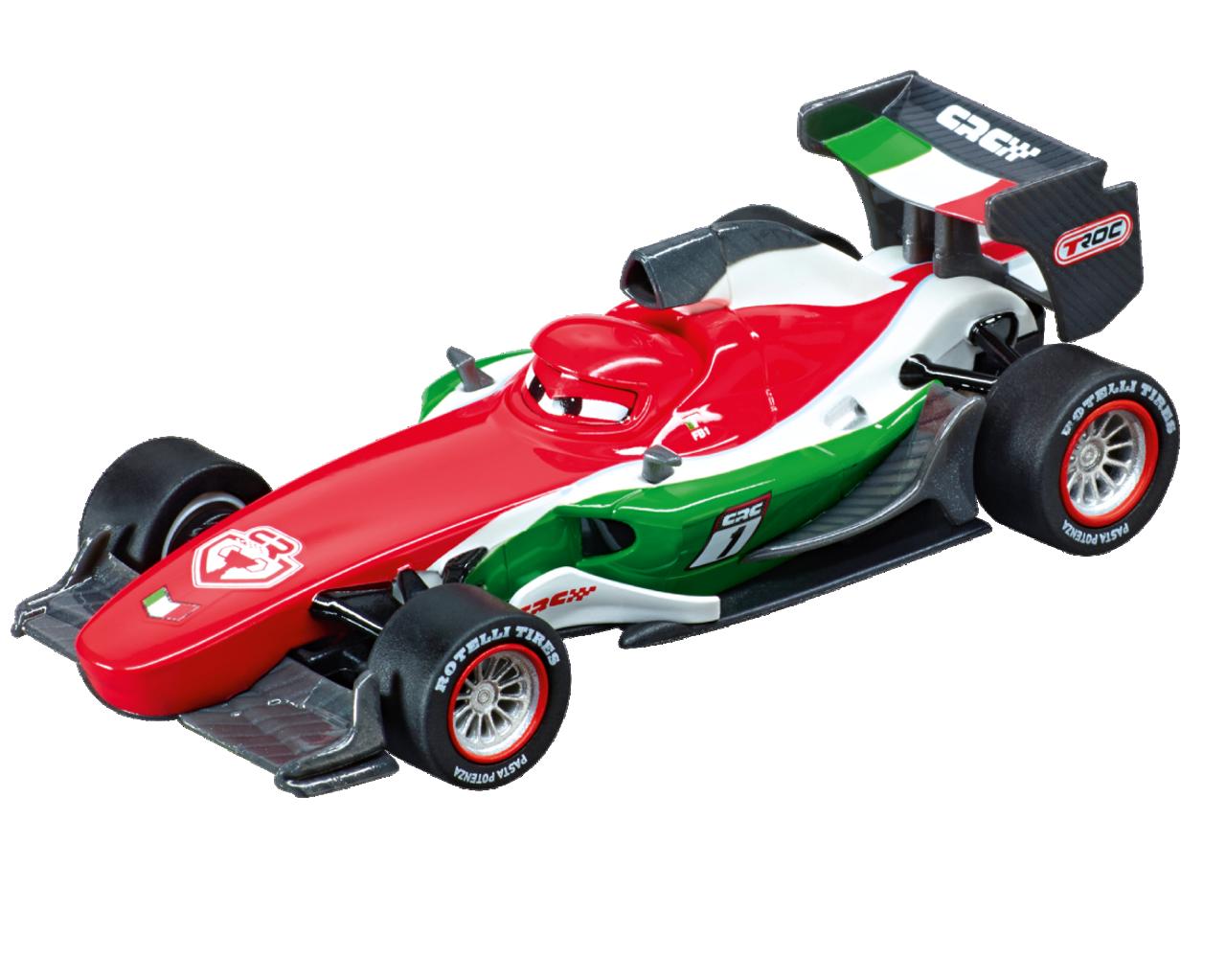 64051 Carrera Go Disney Pixar Car Carbon Francesco Bernoulli 1 43 Slot Car Great Traditions