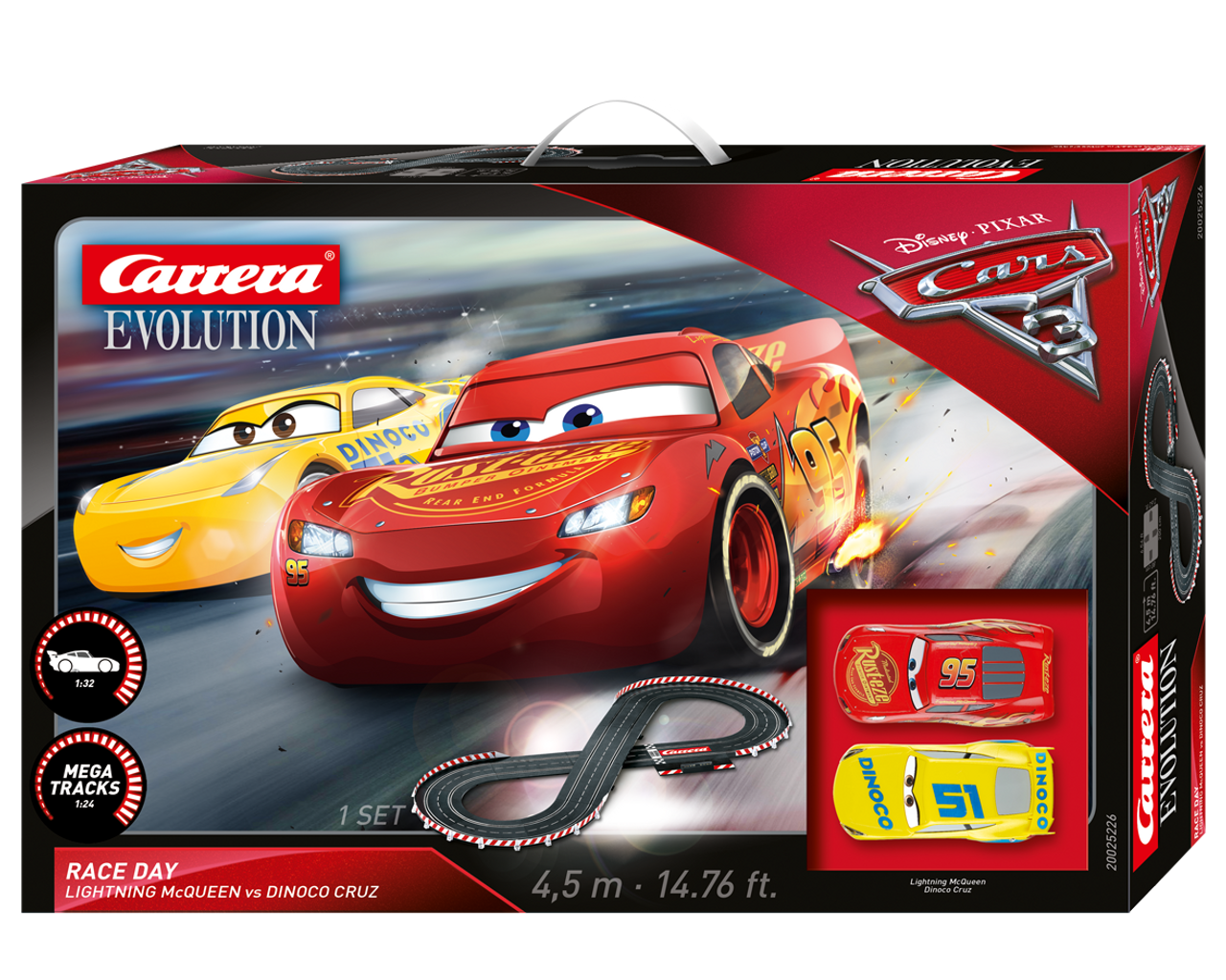 Carrera Go Disney Pixar Cars 3 Pole Position Slot Car Race Track Set Lightning Mcqueen Jackson Storm Hobbies Slot Cars Race Tracks Accessories Race Tracks