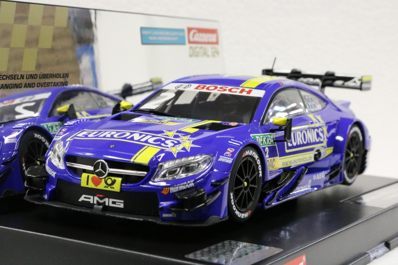 23844 Carrera Digital 124 Mercedes AMG C 63 DTM, #2 1:24 Slot Car