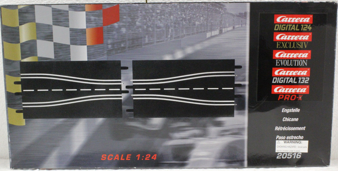 analog Track Squeeze Carrera Chicane 2//pieces 20516