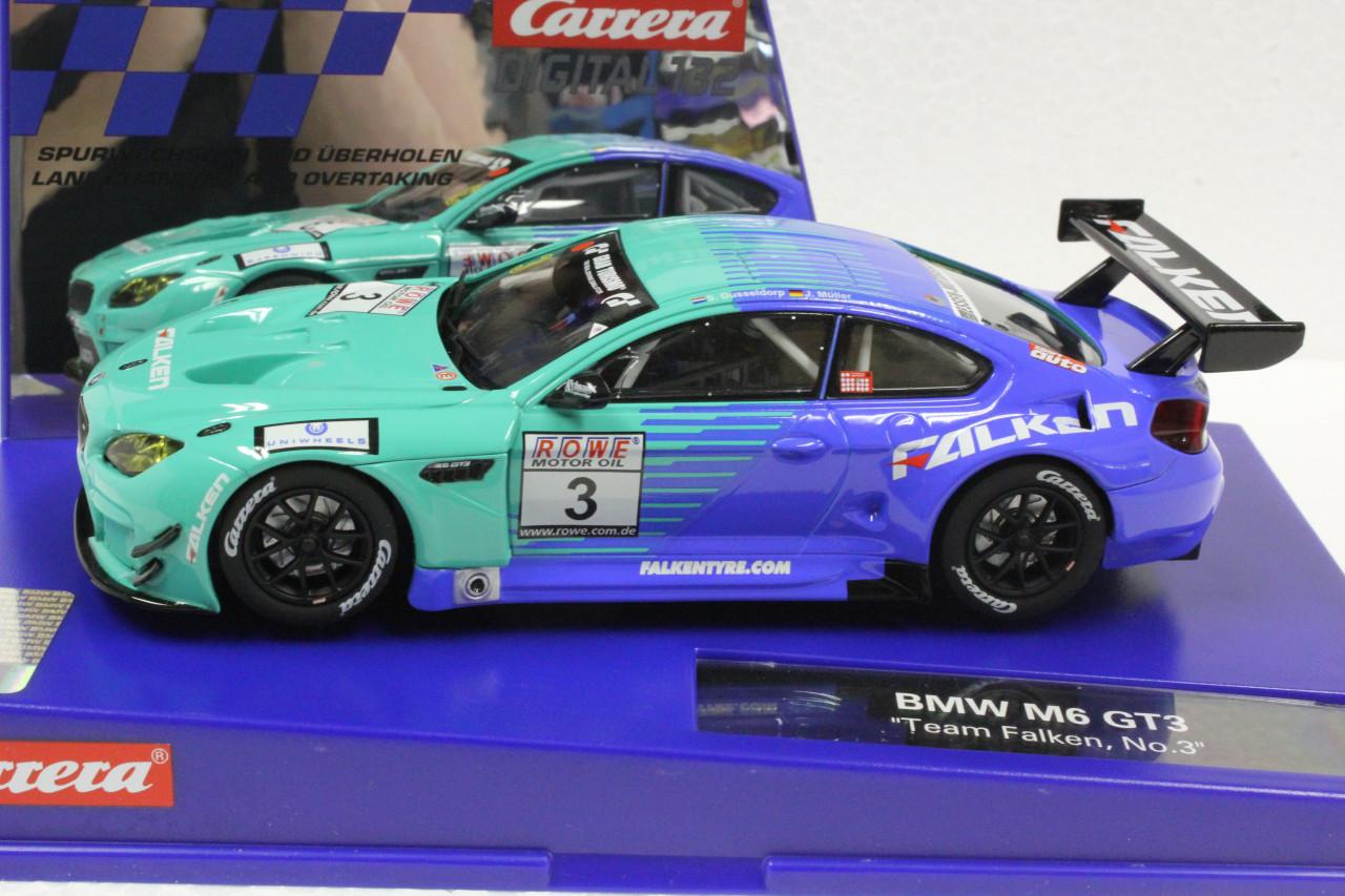No.3 voiture BMW M6 GT3 Team Falken Carrera Digital 132