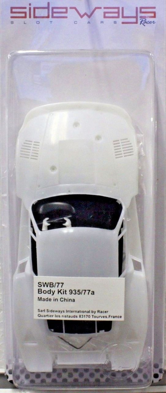 SIDEWAYS SBK//MD1A PORSCHE 935 MOBY DICK WHITE BODY KIT NEW 1//32 SLOT CAR PART