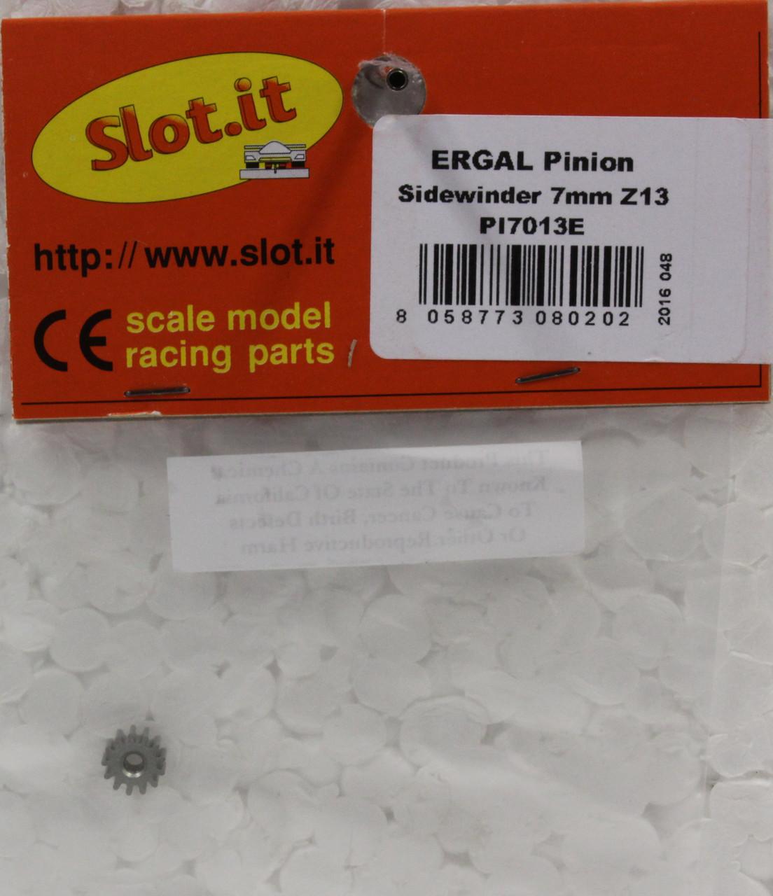 SLOT IT SIPI6511E 11-TOOTH ERGAL SIDEWINDER PINION 1//32 SLOT CAR PARTS